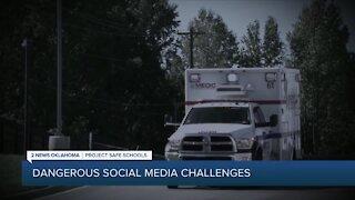 Social media challenges gaining popularity, posing harm to Oklahoma kids