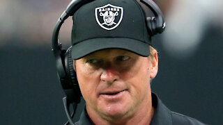 Jon Gruden Resigns As Raiders Coach After Leaked Emails Of Him Offending Women, Gays, & Minorites
