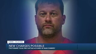 Former Tulsa fire captain facing new charges