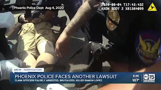Family sues Phoenix Police after 'hogtied' man died