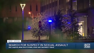 Search on for sexual assault suspect in Tempe