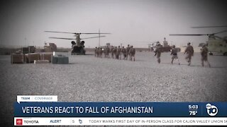 San Diego veterans on the fall of Kabul