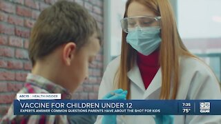 Health Insider: Experts answer questions about COVID-19 vaccines for children