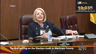 Arizona AZ State Senate Hearing on the 2020 Election Audit in Maricopa County