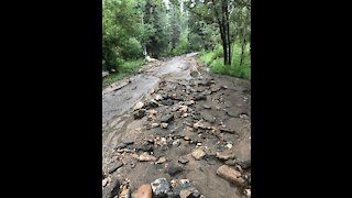 Colorado's burn scars continue to wreak havoc as flash flooding hit parts of Larimer county on Saturday.