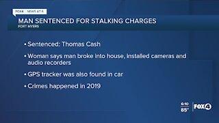 Man arrested for stalking