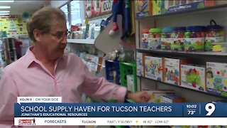 Longtime Tucson classroom supply store gets A+ from teachers