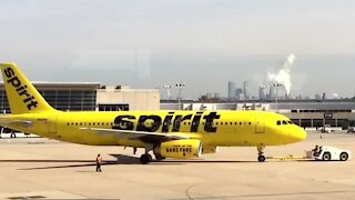 McCarran Airport warns Spirit passengers of potential problems