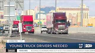 Could teens be the answer to the truck driver shortage?