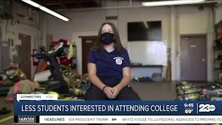 Less U.S. students interested in attending college