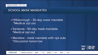 School districts to discuss mask mandate