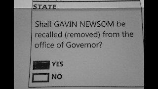 California Governor Newsom Recall Election