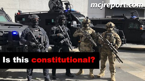 When does Police become a Military?
