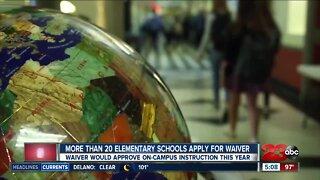Public Health addresses backlog and school waivers