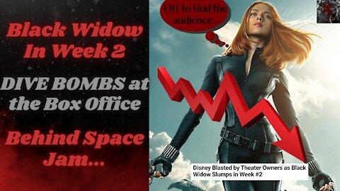 Black Widow Box Office Failure In Week 2 Goes Deeper Than Poor Writing, It's Built On Lies!