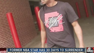 Former NBA star Francis has 30 days to surrender