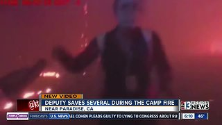 Video shows sheriff's deputy helping people