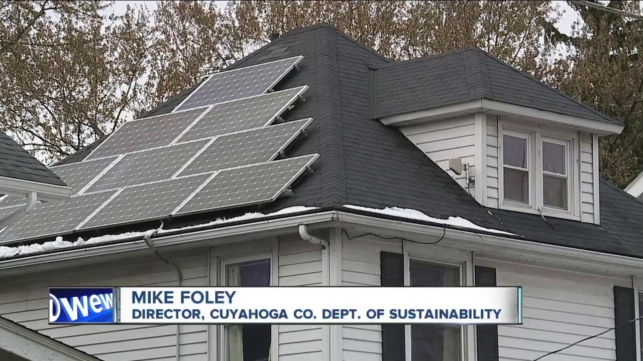 Cuyahoga County wants to help homeowners go solar