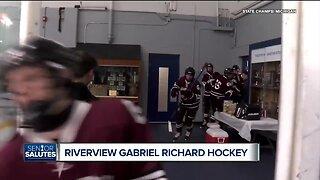 WXYZ Senior Salutes: Riverview Gabriel Richard hockey team
