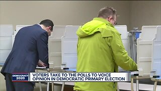 Voters take to the polls to voice opinion in Democratic primary election