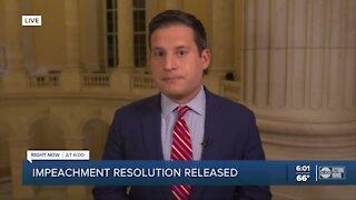 Impeachment resolution released