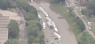 Major Freeway Flooding
