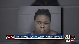 First Fridays shooting suspect appears in court