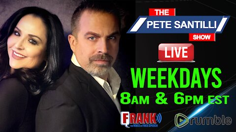 The Pete Santilli Show 24/7 Stream - Live At 8am-10am EST & 6pm-9pm EST