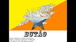 Bandeiras e fotos dos países do mundo: Butão [Frases e Poemas]