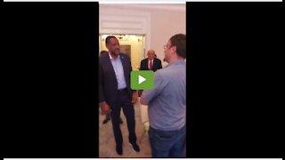 Vernon Jones tells CNN reporter Biden is a bigot