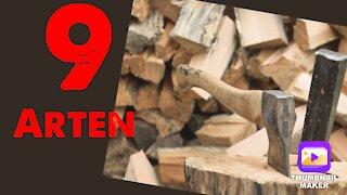 9 Arten von Holzspaltern