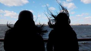 Freezing Winds Across Northeast Reach Hurricane Strength