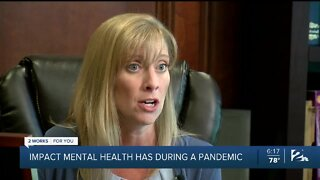 Impact on mental health during a pandemic