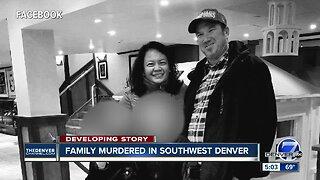Family killed in shooting in southwest Denver