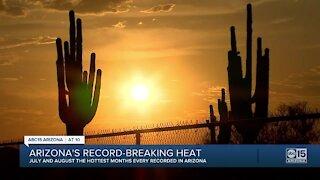 Phoenix sets high-temperature record; crews rescue hikers