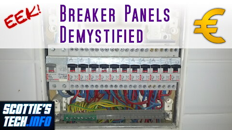 EEK! #5 - Breaker Panels aren't so scary after all