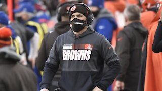 COVID Knocks Out Cleveland Browns Head Coach For 1st Playoff Game