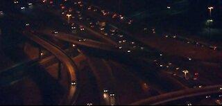 Copper thieves strike again, delay freeway light pole repairs near Spaghetti Bowl