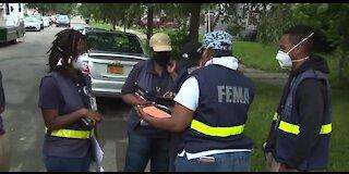 FEMA surveys damage left behind from June flooding in metro Detroit