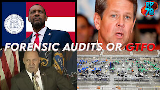 Georgia Following Pennsylvania To Arizona! Forensic Audits Incoming!
