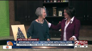 Affordable Holiday Decorations with Paula Wood