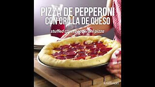 Pepperoni Pizza with Cheese Shore
