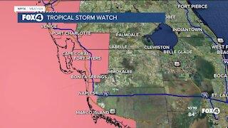Tropical Storm Elsa update
