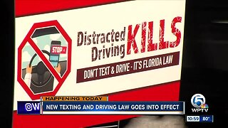 New texting while driving law goes into effect in Florida
