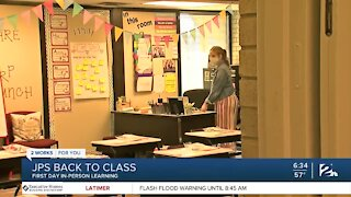 Project Safe Schools: Jenks Public Schools First Day of In-Person Learning