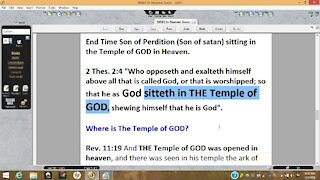 WW3 in Heaven & Earth Soon, No Place to Sit on Temple Mount