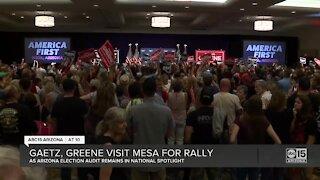 Gaetz, Greene visit Mesa for America First Rally