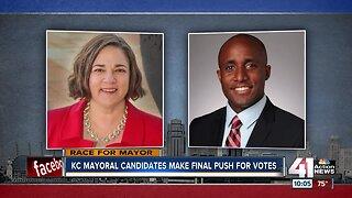 KC mayoral candidates make final push for votes