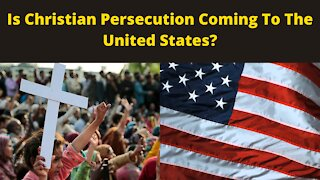 Is Christian Persecution Coming To America? | Prophecy Update with Tom Hughes (January 26th, 2021)