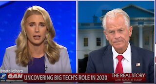 The Real Story - OAN Big Tech Collusion with Peter Navarro